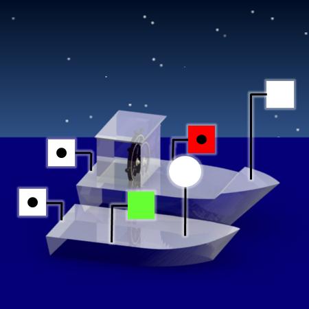 permis bateau online test du permis fluvial qcm sur les marques des navires. Black Bedroom Furniture Sets. Home Design Ideas